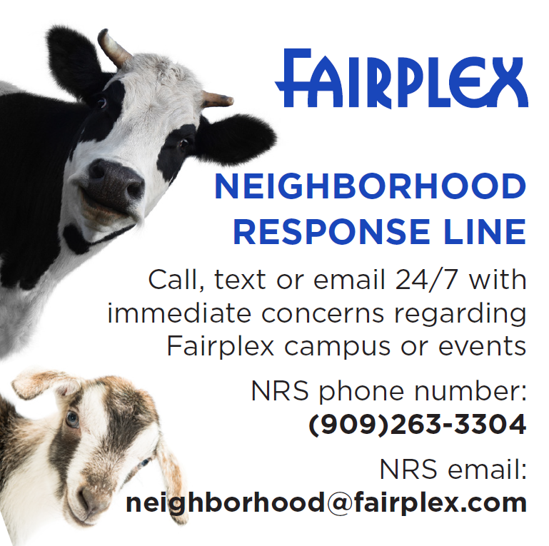 Fairplex Neighborhood Response Line