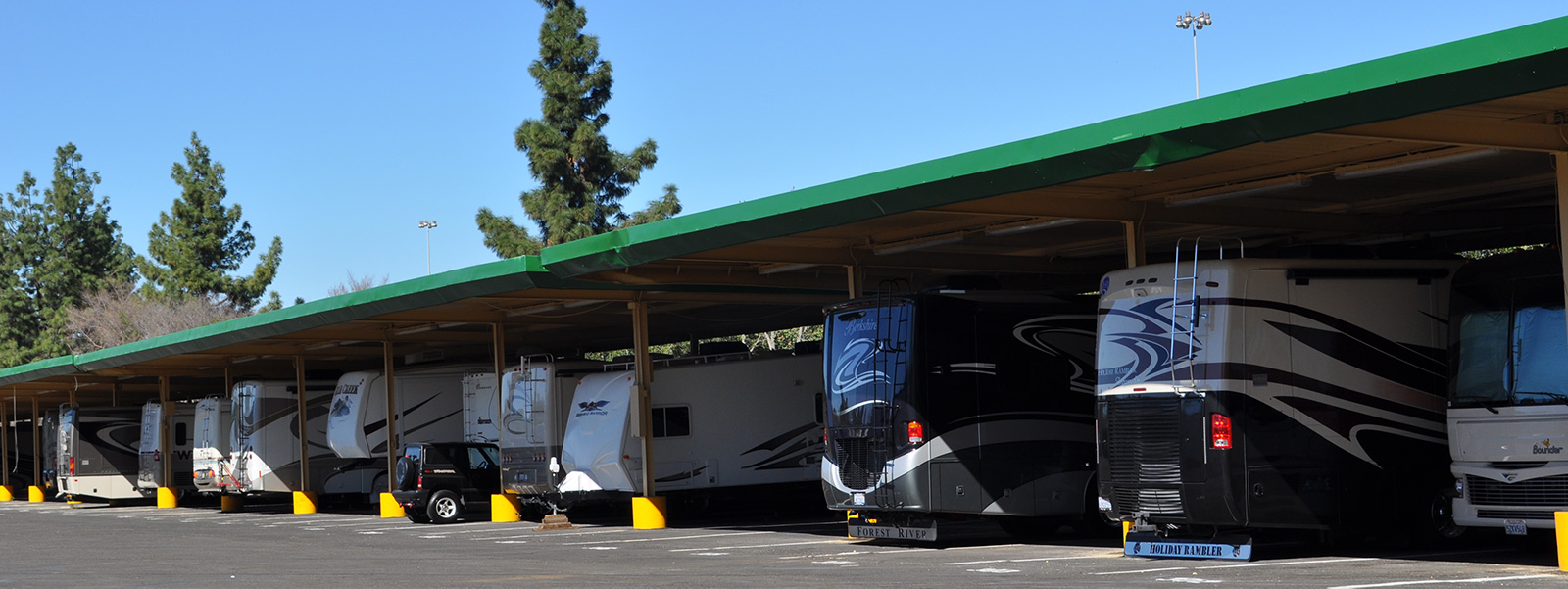 RV and Boat Storage at Fairplex