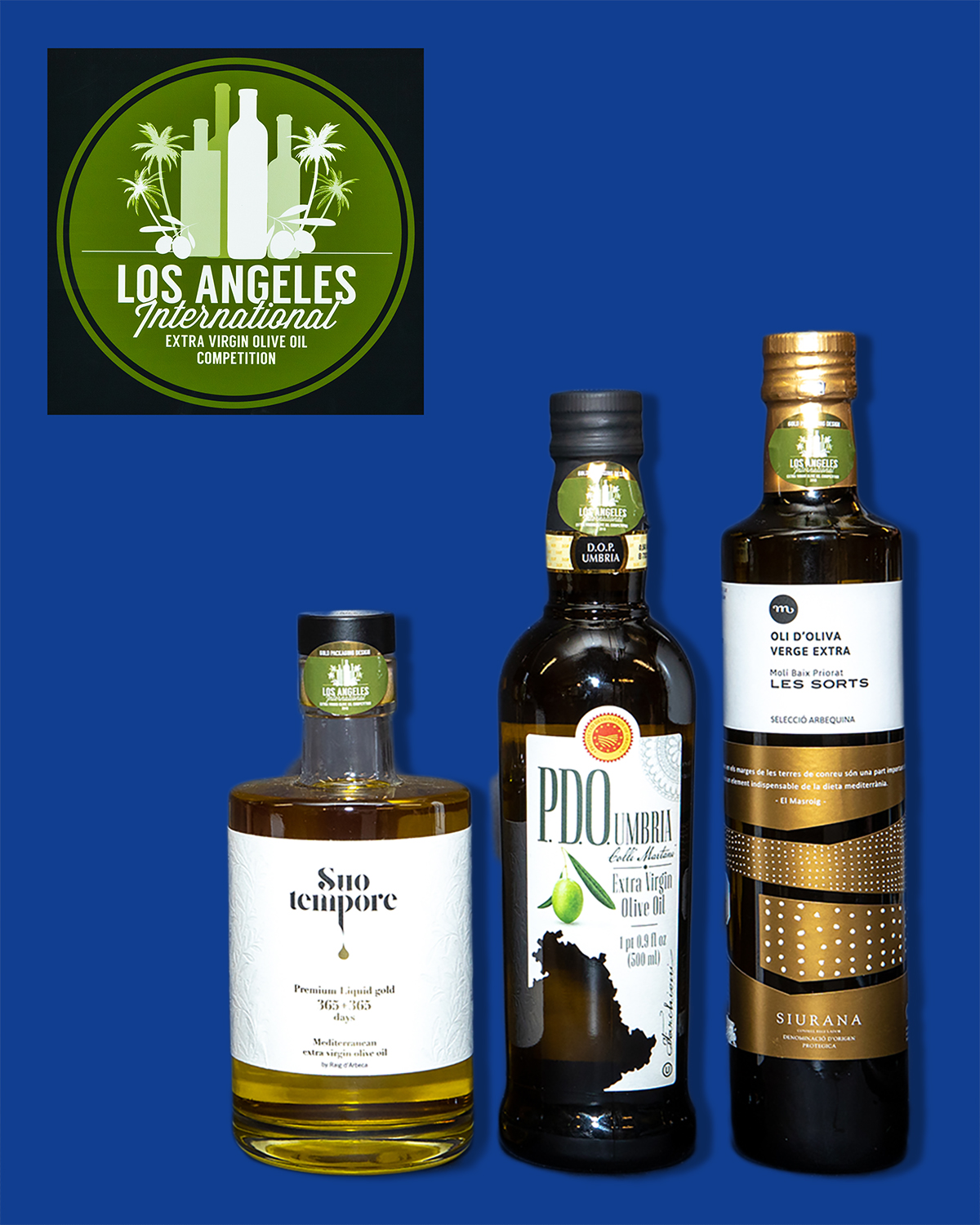 2019 LA International Olive Oil Gold Packaging - Design Standard