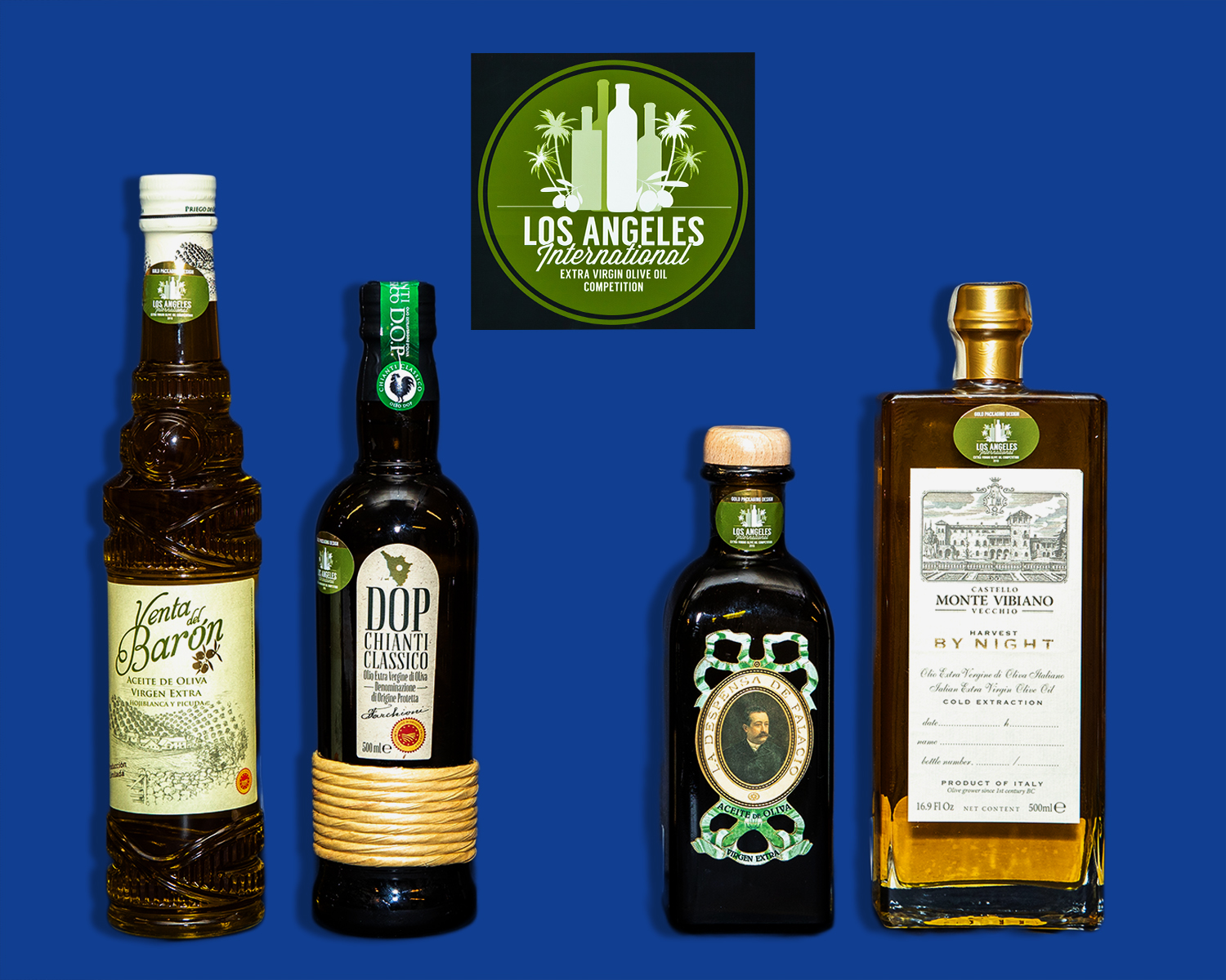 2019 LA International Olive Oil Gold Packaging - Traditional