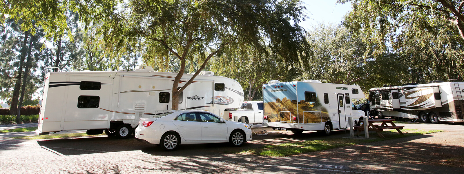 Fairplex RV Park Grounds