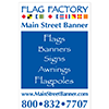 Main Street Banner / Flag Factory a Proud Sponsor of Kaboom!